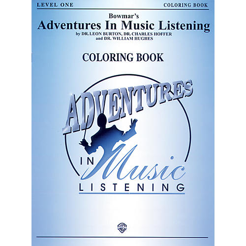 Warner Bros Adventure In Music Listening Level 1 Standard Coloring Book-thumbnail