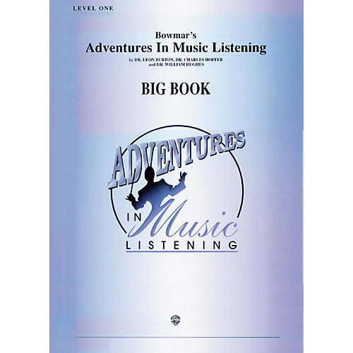 Alfred Adventures In Music Listening Big Book Level One-thumbnail