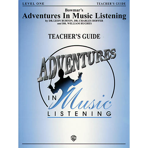 Alfred Adventures In Music Listening Level One Teacher Guide/CD-thumbnail
