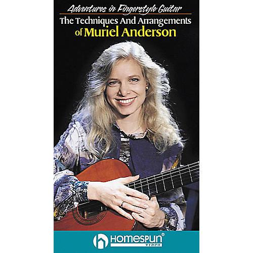 Homespun Adventures in Fingerstyle Guitar - Muriel Anderson (VHS)