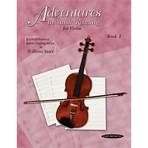 Alfred Adventures in Music Reading for Violin Book I by Alfred