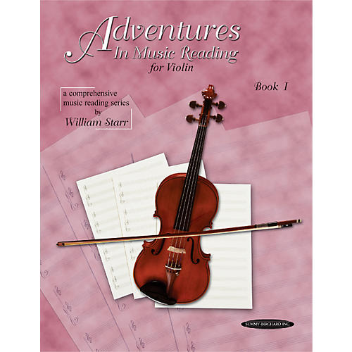 Alfred Adventures in Music Reading for Violin Book I