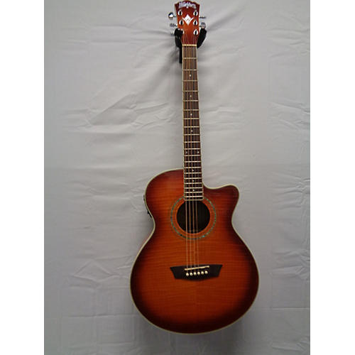 used washburn ae15 acoustic electric guitar guitar center. Black Bedroom Furniture Sets. Home Design Ideas