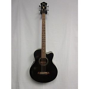 Pre-owned Ibanez Aeb10e Acoustic Bass Guitar by Ibanez