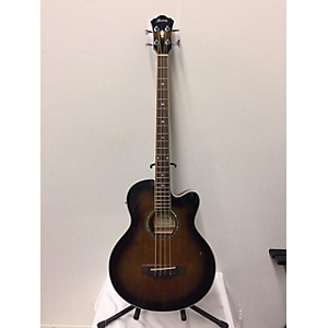 Pre-owned Ibanez Aeb10e-dvs Acoustic Bass Guitar by Ibanez