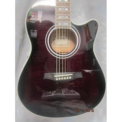 Ibanez Aef30e-tvs Acoustic Guitar