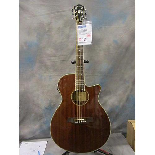 Ibanez Aeg12II Acoustic Electric Guitar Mahogany
