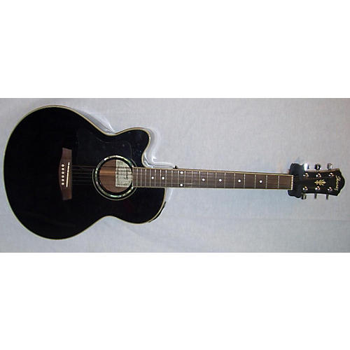 Ibanez Ael10lbk Acoustic Electric Guitar-thumbnail