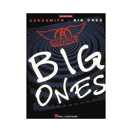 Hal Leonard Aerosmith - Big Ones Piano, Vocal, Guitar Songbook