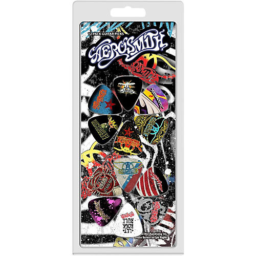 Perri's Aerosmith 12 Pack Guitar Picks-thumbnail