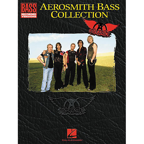 Hal Leonard Aerosmith Collection Bass Guitar Tab Songbook-thumbnail