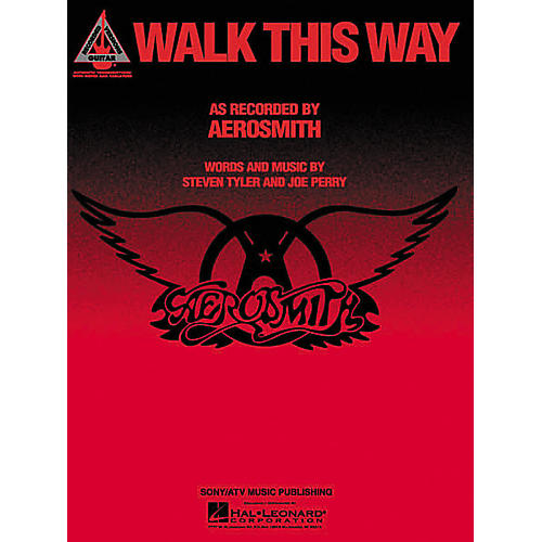 Hal Leonard Aerosmith: Walk This Way Guitar (Sheet Music)-thumbnail