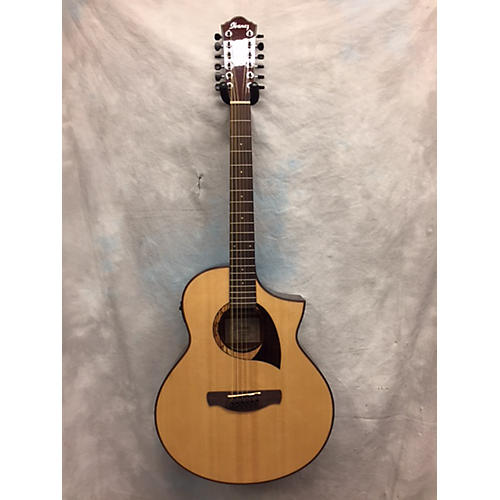 used ibanez aew2212cd 12 string acoustic electric guitar guitar center. Black Bedroom Furniture Sets. Home Design Ideas