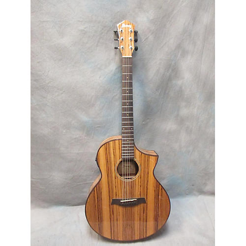Ibanez Aew40zw Acoustic Electric Guitar-thumbnail
