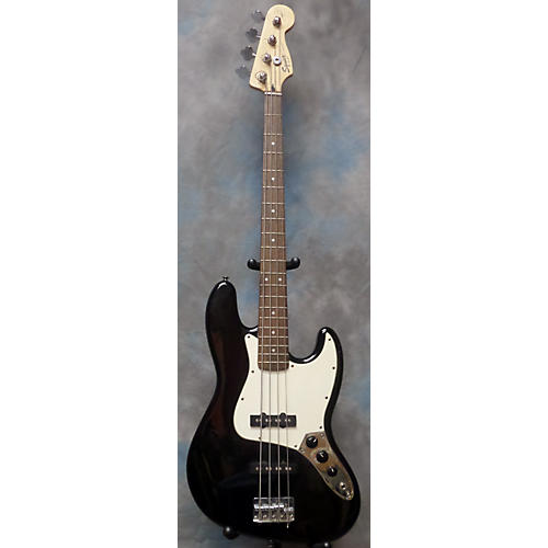 Squier Affinity Jazz Bass Black Electric Bass Guitar-thumbnail