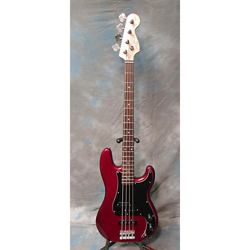 Squier Affinity Precision Bass Candy Apple Red Electric Bass Guitar-thumbnail