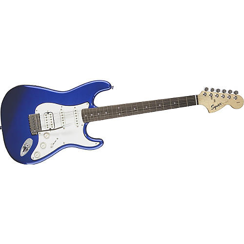 Squier Affinity Series Fat Strat Electric Guitar Metallic Blue