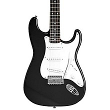 Affinity Series Stratocaster Electric Guitar Black Rosewood Fretboard
