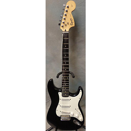 Squier Affinity Stratocaster Black Solid Body Electric Guitar-thumbnail