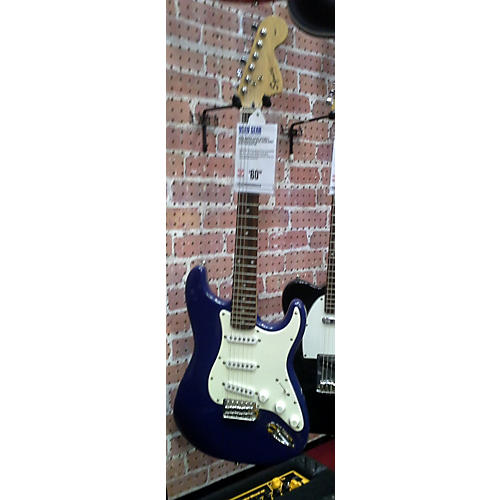 Squier Affinity Stratocaster Blue Solid Body Electric Guitar-thumbnail