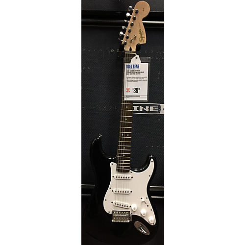 Squier Affinity Stratocaster Solid Body Electric Guitar Black