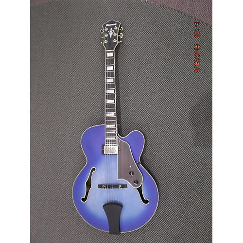 Ibanez Afj91-jLF JET BLUE Hollow Body Electric Guitar