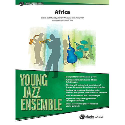 BELWIN Africa Jazz Ensemble Grade 2 (Medium Easy)-thumbnail