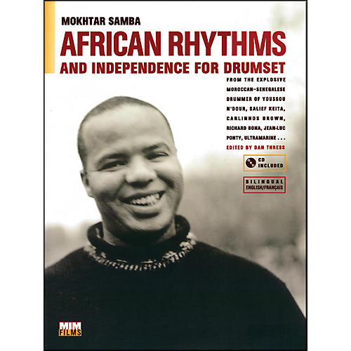 Alfred African Rhythms and Independence for Drumset - Mokhtar Samba (Book/CD)-thumbnail