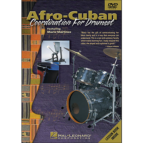 Hal Leonard Afro-Cuban Coordination for Drumset - DVD-thumbnail