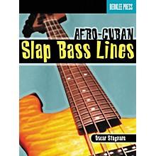 Berklee Press Afro-Cuban Slap Bass Lines (Book/CD)