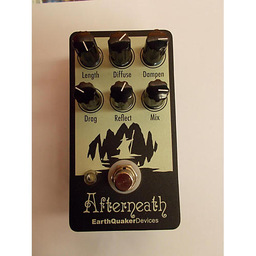 Earthquaker Devices Afterneath Black Effect Pedal Black