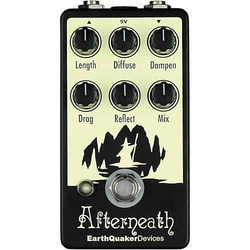 Earthquaker Devices Afterneath Reverb Guitar Effects Pedal