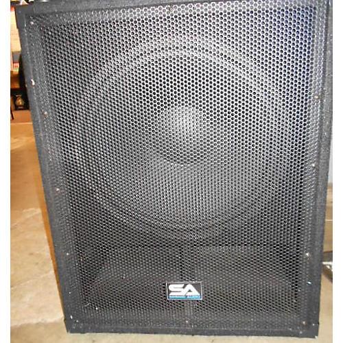 Seismic Audio Aftershock 18 Powered Speaker