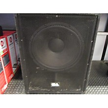 Seismic Audio Aftershock 18 Powered Subwoofer