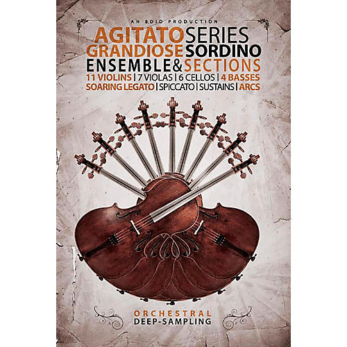 8DIO Productions Agitato Series: Grandiose Sordino Strings
