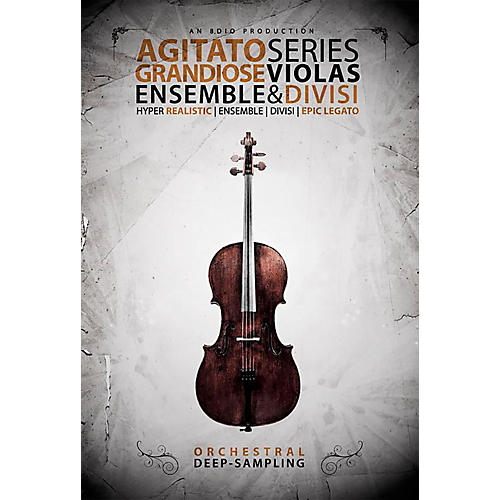 8DIO Productions Agitato Series: Grandiose Violas