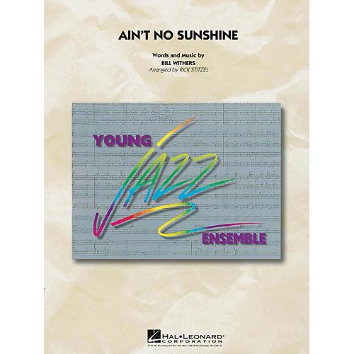 Hal Leonard Ain't No Sunshine - Young Jazz Ensemble Series Level 3-thumbnail