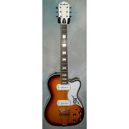 Eastwood Airline Tuxedo Solid Body Electric Guitar-thumbnail