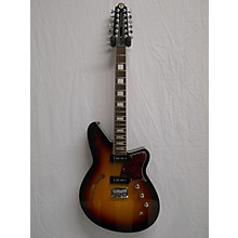 Reverend Airwave 12-string Hollow Body Electric Guitar