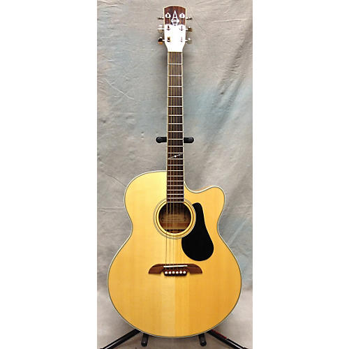 Alvarez Aj60sc Nat Natural Acoustic Electric Guitar