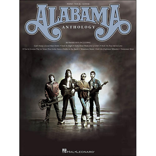 Hal Leonard Alabama Anthology arranged for piano, vocal, and guitar (P/V/G)