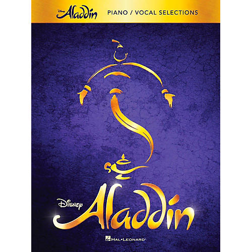 Hal Leonard Aladdin - Broadway Musical Piano/Vocal Selections-thumbnail