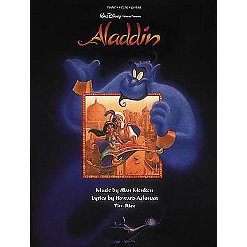 Hal Leonard Aladdin Piano, Vocal, Guitar Songbook