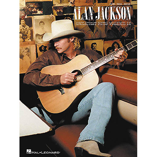 Hal Leonard Alan Jackson - Greatest Hits Volume II Piano, Vocal, Guitar Songbook-thumbnail
