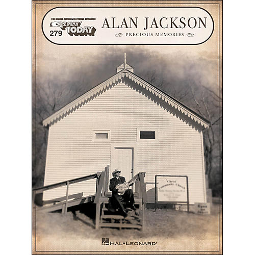 Hal Leonard Alan Jackson Precious Memories E-Z Play 279-thumbnail