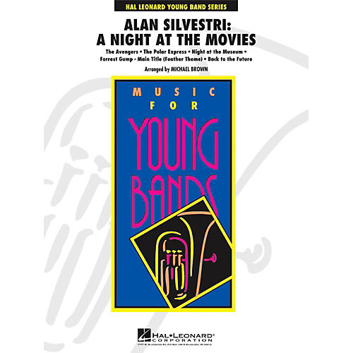 Hal Leonard Alan Silvestri: A Night At The Movies - Young Concert Band Level 3-thumbnail