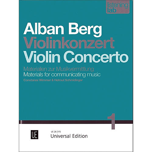 Carl Fischer Alban Berg: Violin Concerto Study-thumbnail