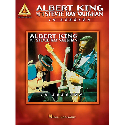 Hal Leonard Albert King With Stevie Ray Vaughan - In Session Guitar Tab Songbook-thumbnail