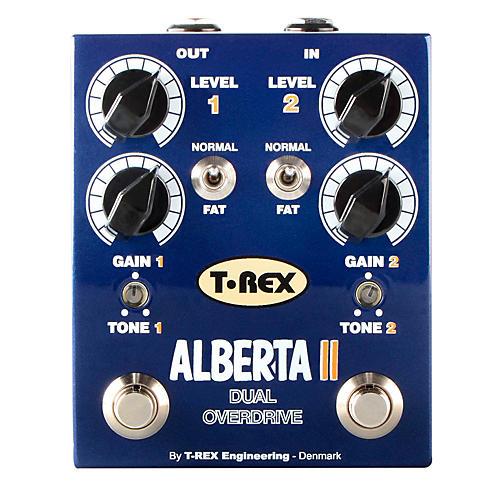 T-Rex Engineering Alberta II Dual Overdrive Guitar Effects Pedal-thumbnail