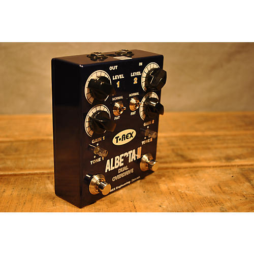 T-Rex Engineering Alberta Ii Dual Overdrive Effect Pedal